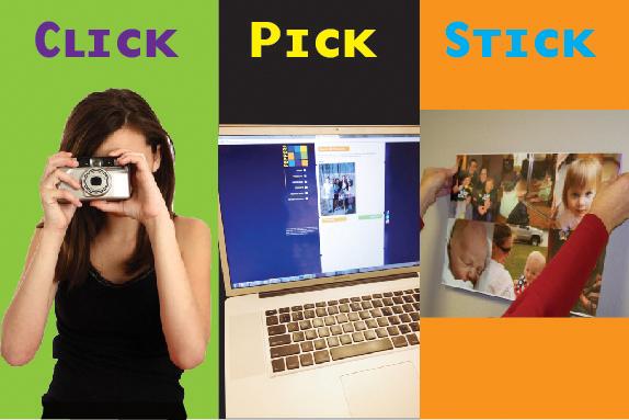 Click-Pick-Stick