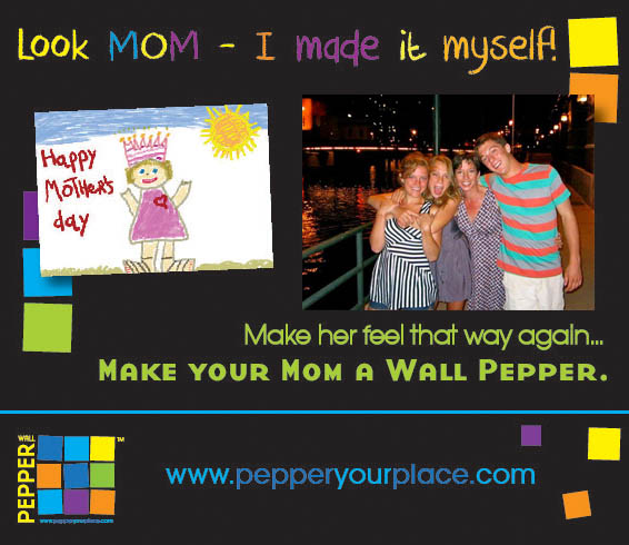 Wall Pepper makes a GREAT GIFT.